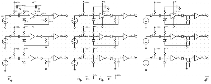 9 Channel Detector Circuit